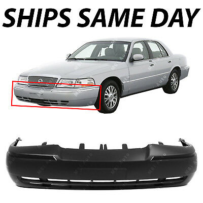 NEW Primered   Front Bumper Cover Fascia For 2003 2005 Mercury Grand Marquis