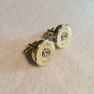 Holland & Holland shotgun shell cartridge cap cufflinks clay and game shooting!