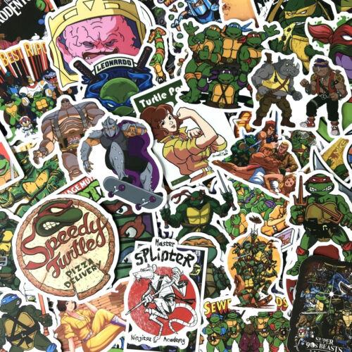 50pc Random TMNT Teenage Mutant Ninja Turtles Phone Laptop Decal Sticker Pack