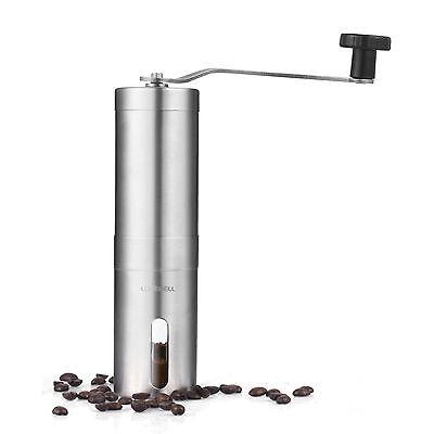 LUXEBELL Manuelle KaffeemüHle Hand KaffeemüHle Tragbar Espressomühle