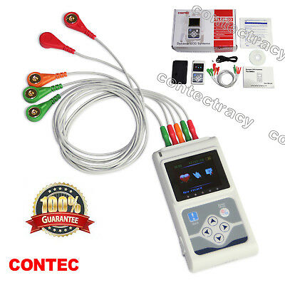 Promotion Digital Holter Ecg 3 Channel 24 Hoursekg Analyzer System Pc Software
