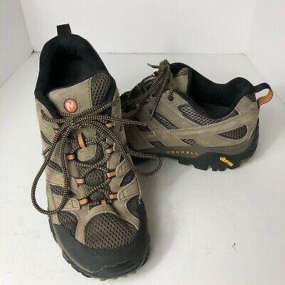 Merrell Men's Size 10.5 Moab 2 Vent Hiking Shoe Walnut Performance Footwear Boot