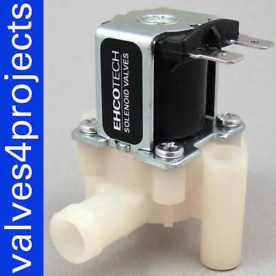 12 Hose Barb Gravity Feed Electric Solenoid Valve Ddb-cd-12vdc 12-volt Dc