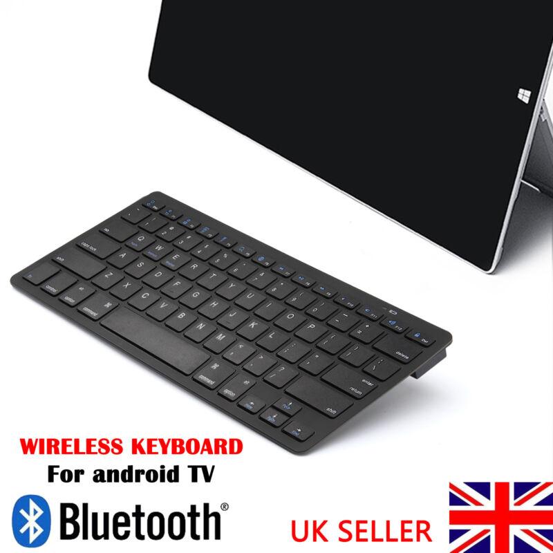2018 slim wireless bluetooth keyboard for pc android phone ipad imac tablet uk 711005736725 ebay. Black Bedroom Furniture Sets. Home Design Ideas