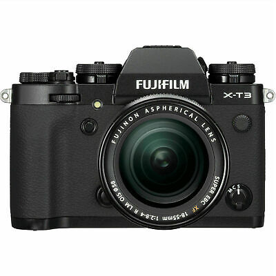 New Fujifilm X-T3 XT3 Digital Camera with 18-55mm Lens - Black