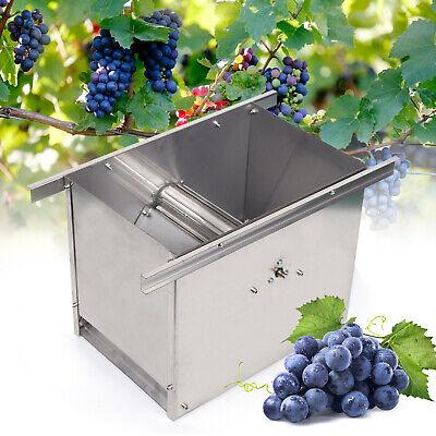 Nuevo Trituradora de uva eléctrica Máquina de vino de acero inoxidable 304