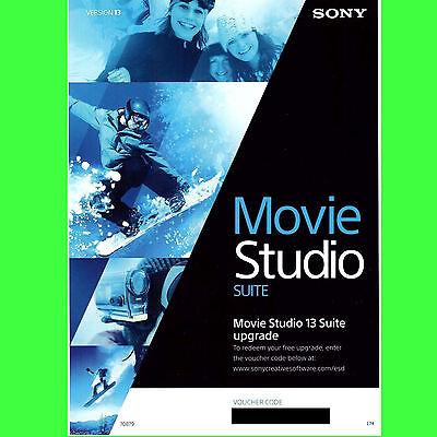 Sony Vegas Movie Studio Suite 13,  FULL VERSION