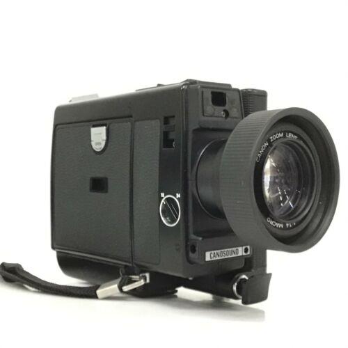 Canon Super 8 Canosound 514 XL-S 8mm Film Camera w/ 9-45mm F1.4 Lens [JC]