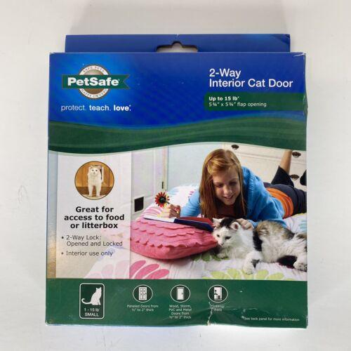 PetSafe Interior 2-Way Locking Cat or Dog Door White CC10-05