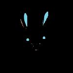 Blue Bunny Paper