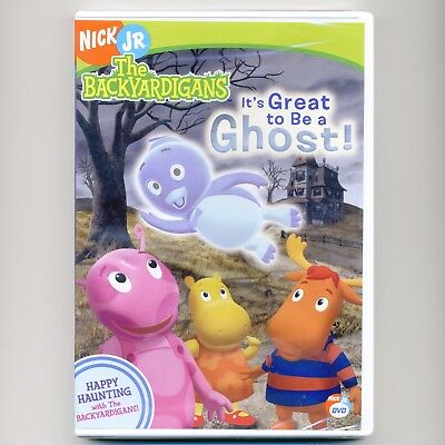 Backyardigans Ghost children animated TV episodes, new DVD Nick Jr PBS Halloween