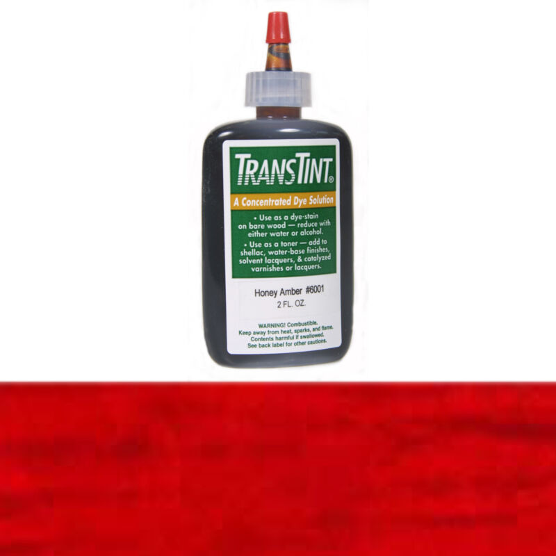 TransTint Dyes Bright Red