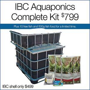 IBC Aquaponics Complete Kit Canning Vale Canning Area Preview