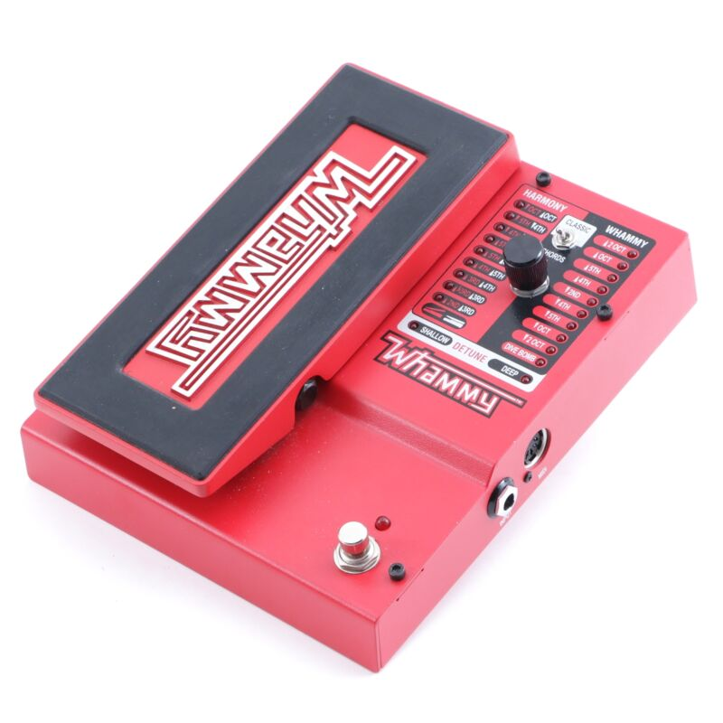 Digitech Whammy 5 Pitch Shifter Guitar Effects Pedal P-12127