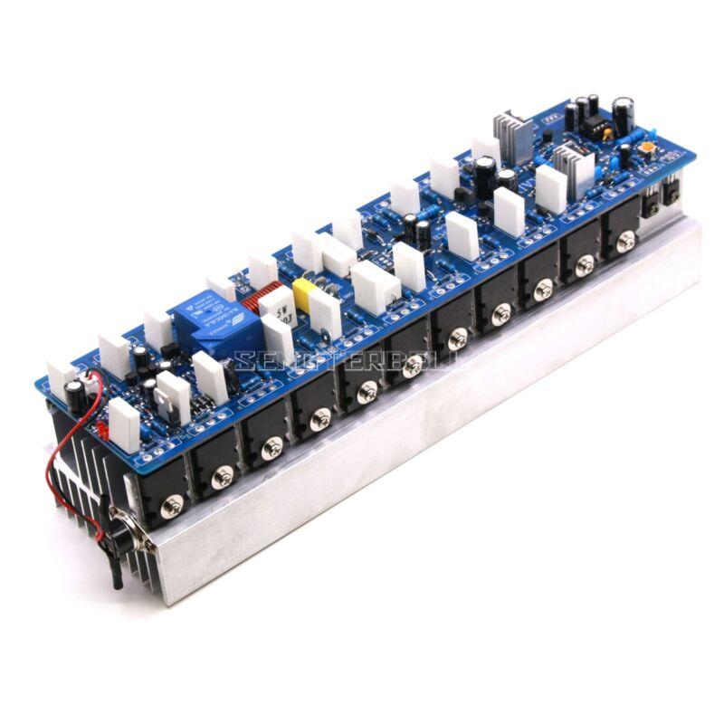 Assembled 1200W Powerful amplifier board/mono amp board with heatsink