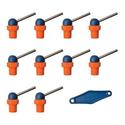 Loc-line Hpt Ct Style 10pc Wadjustable Lever Nozzle.062x1.25 Thread 14