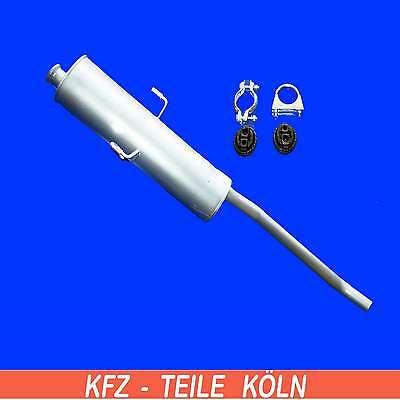 FIAT ULYSSE - Scudo 1.9 2.0 2.1 Silencer-Muffler Exhaust System + Assembly Kit