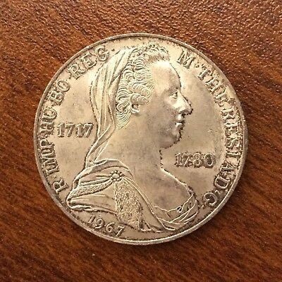 1967 Austria  Silver 25 Schilling UNC KM#2901, Y#117