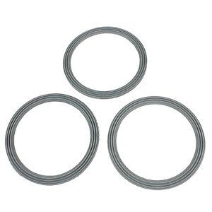 3 X Ridged Liquidiser Base Seal Blender Sealing Ring For Kenwood FP580 Series