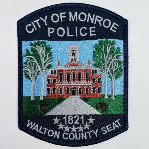 City of Monroe Police Walton County Georgia Patch (A1)