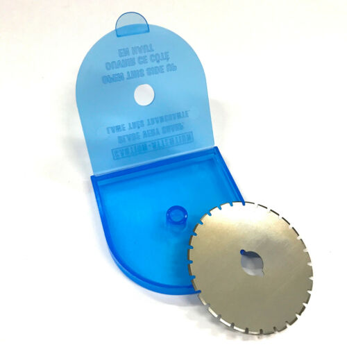 """45MM (1-3/4"""") Skip Cut Rotary Cutter Round Replacement Blade"""
