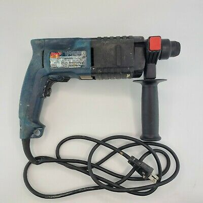 Bosch Bulldog Rotary Hammer Drill 11234vsr Sds-plus With Case And Drill Bits