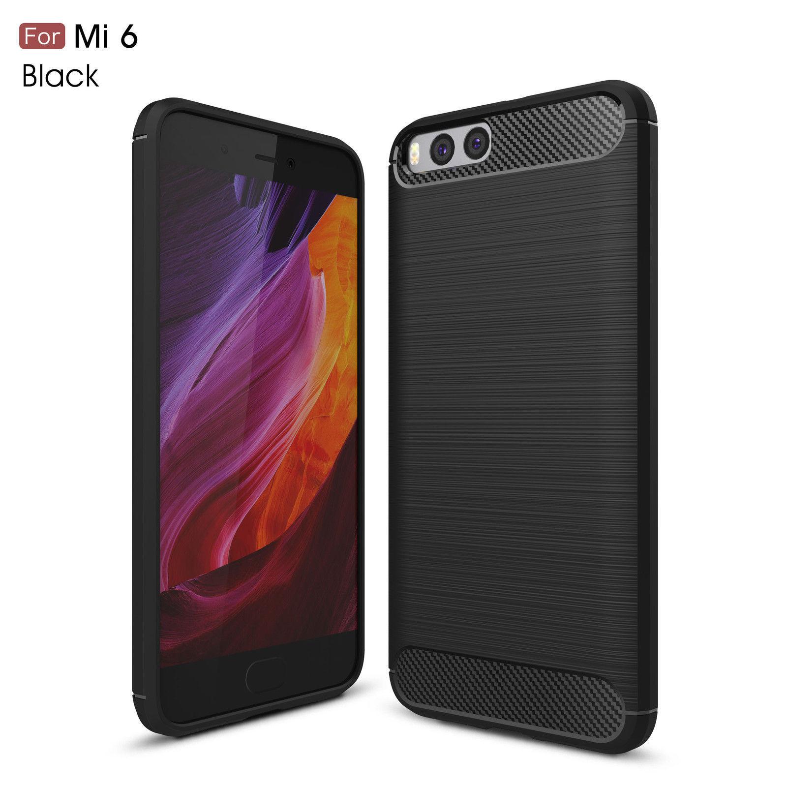 Luxury Carbon Fiber Tpu Gel Case Cover For Xiaomi Redmi Note 3 4 5 Temperred Glass Softcase 4s 4a 4x 5a