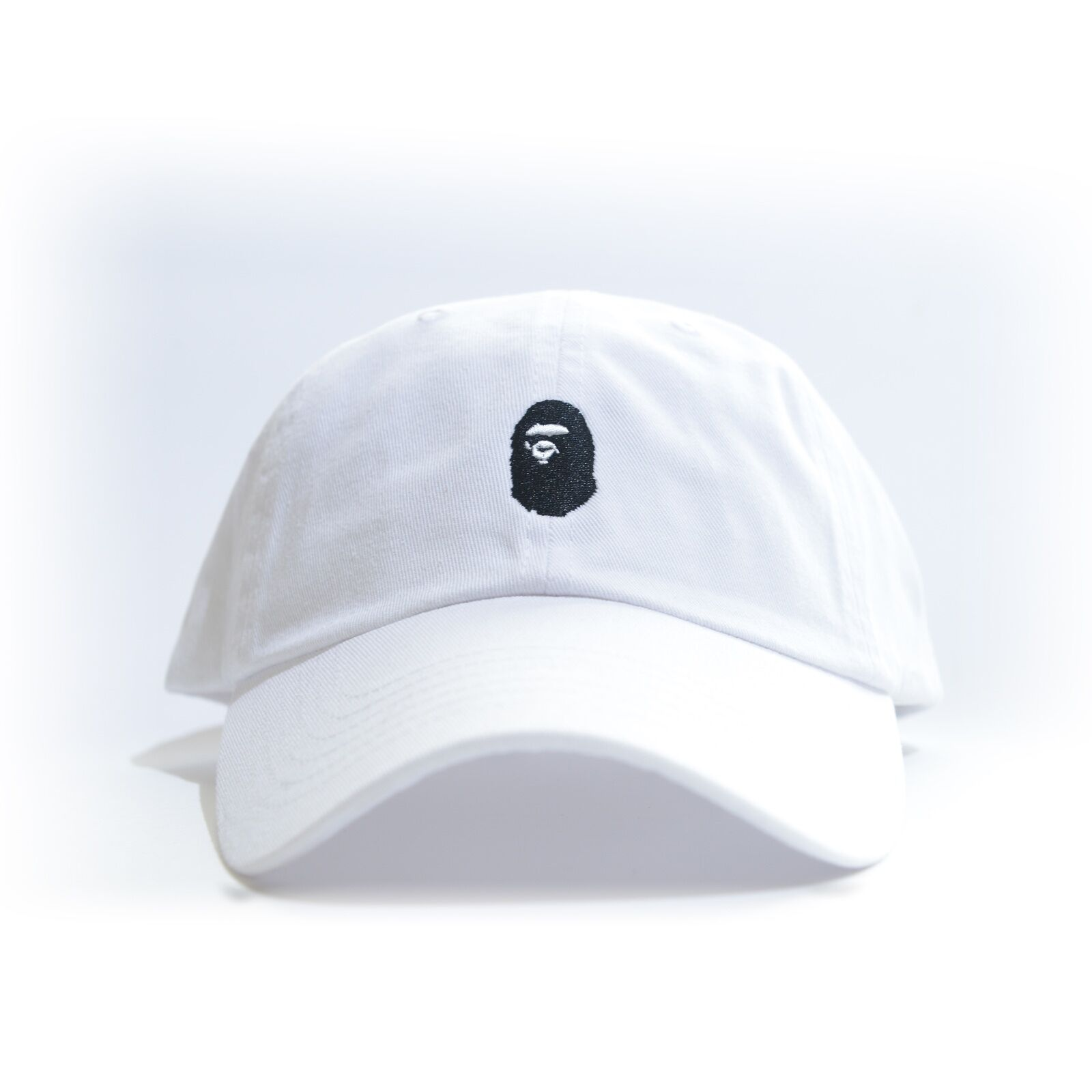 """BAPE"" Embroidered Dad Hat (BATHING APE HEAD supreme AAPE un"
