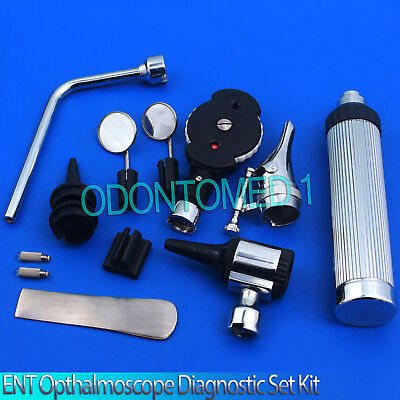 Ent Opthalmoscope Ophthalmoscope Otoscope Nasal Diagnostic Kit With Case Nt-926