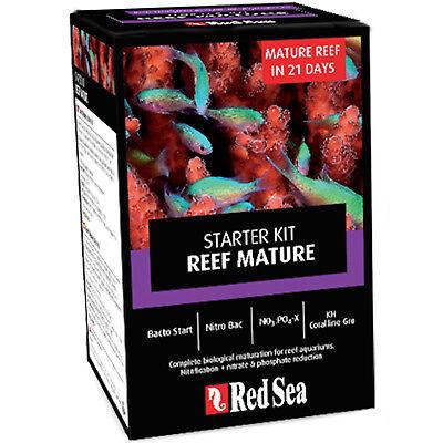 Red Sea Starter Kit Reef Mature 4x 100mL 21 Day Reef Tank Cycle Free USA Ship