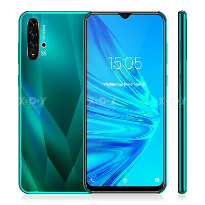 """Unlocked 6.6"""" Android 9.0 Smartphone Cell Phones Dual SIM 4 Core Phablet Tmobile"""