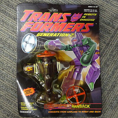 MINT ON CARD Transformers Generation 2 Ransack (G2 1993 Hasbro)