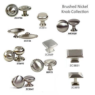 Knob Pull Handle Kitchen/Bathroom Cabinet Hardware Brushed Nickel Collection Pull Knob Hardware