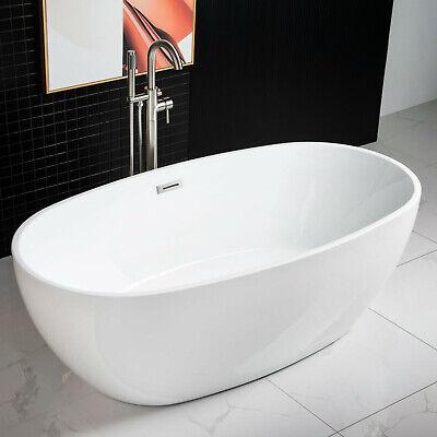 Woodbridge 67''  Freestanding Bathtub B-0028 with Chromel overflow& drain