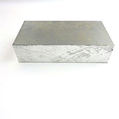 2 14 Thick 2.25 Aluminum 6061 Plate 5.375 X 8.75 Long Sku 122263