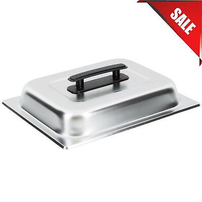4 Qt. Stainless Steel Chafer Replacement Half Size Chafing Dish Pan Lid Cover