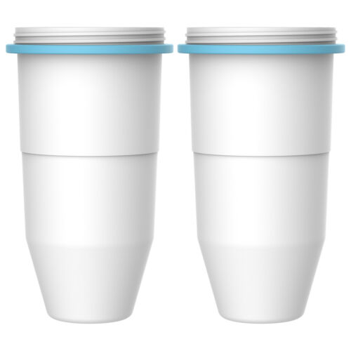 2 Packs AQUACREST Fits ZeroWater ZR-017 6-Stage Replacement Water Filters