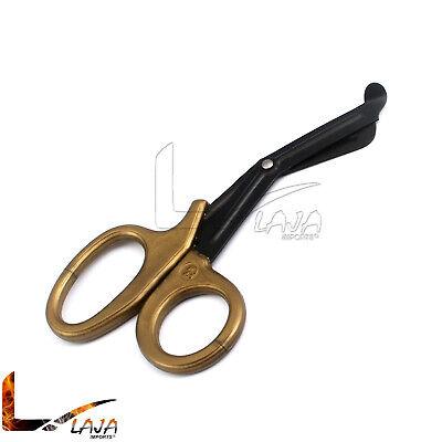 Utility Scissors 5.5 Fluoride Coated Medical Paramedic Bandage Nurse Gold