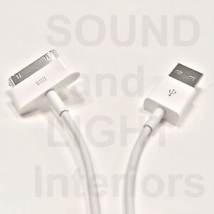 Apple-30-Pin-USB-Sync-Data-Charging-Cable-Original-Real-OEM-Authentic-iPad-1-2-3