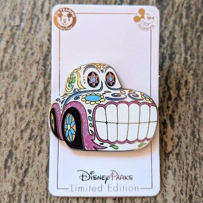 Cars Sugar Skull Halloween Pin 2018 Disney Day of Dead Dia de Muertos AP LE 2000](Cars De Halloween)
