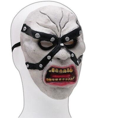 [ Maske aus Latex ] Henker Krieger Monster Verkleidung Kostüm Halloween - Krieger Kostüm Maske
