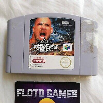 Jeu WCW Mayhem pour Nintendo 64 N64 PAL FR - Floto Games