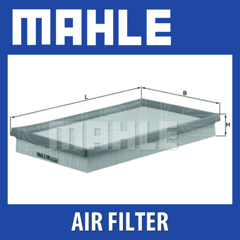 MAHLE Air Filter - LX2992 (LX 2992) - Fits LEXUS LS 460, LS 600 H