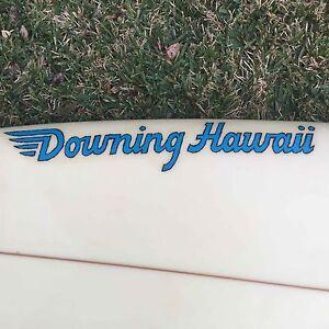 Hawaiian thruster - 'Downing Hawaii' surfboard New Lambton Heights Newcastle Area Preview