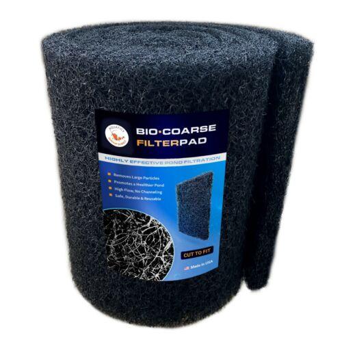 "Classic Koi Pond Filter Media Pad COARSE Bulk Roll - 12"" x 72"" x 1""- Made in USA"