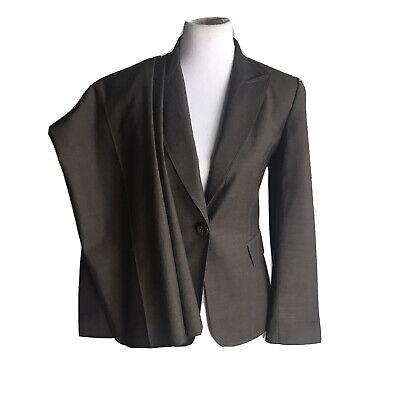 TAHARI Women 2 PC Brown Pant Suit Size 6 P