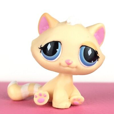 Authentic Littlest Pet Shop #740 Tabby Cat Kitty Kitten / Original Hasbro LPS, used for sale  Shipping to Canada