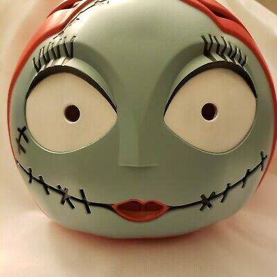 "New The Nightmare Before Christmas Sally 7"" Light Up Pumpkin Halloween Battery"