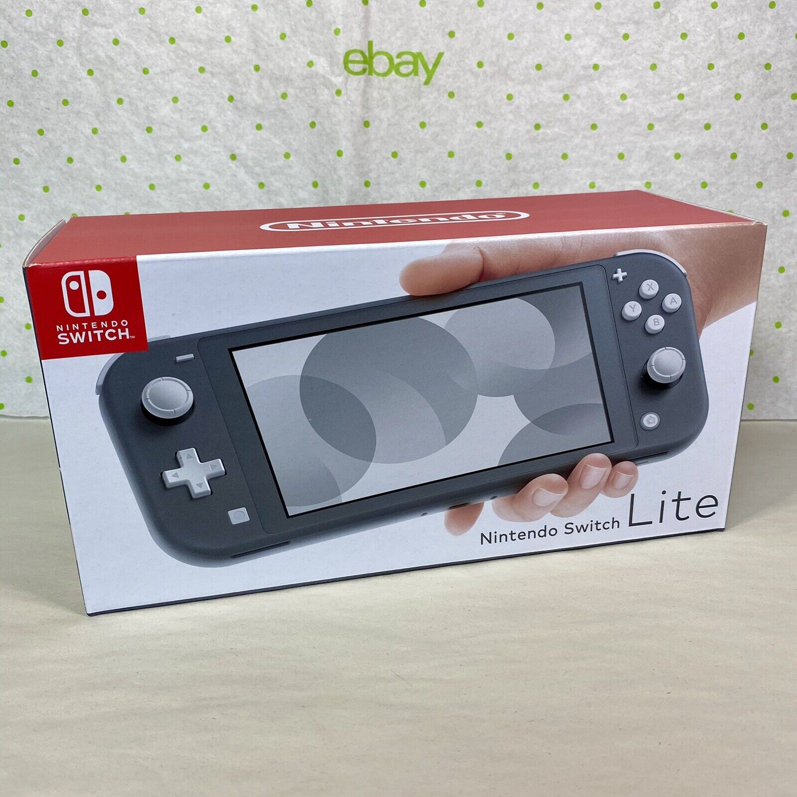 Nintendo Switch Lite Gray Handheld Video Game Console Brand New Sealed Grey HTF