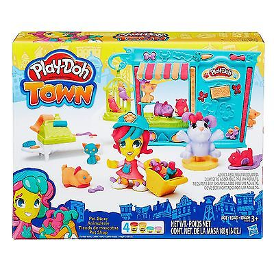 Hasbro Play-Doh Town Pet Store Modeling Clay Compound Playset